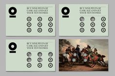 Armoury – Loyalty card