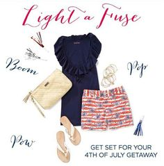 July 4th outfit!  #lillypulitzer
