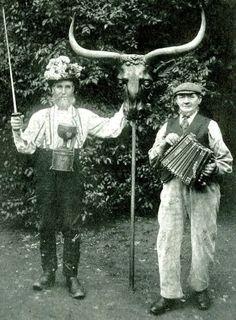 Abingdon Morris Dancers circa 1910