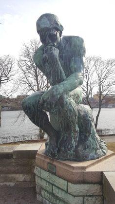 Tänkaren av Auguste Rodin