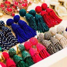 Tassel Earrings!