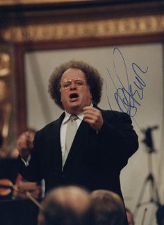 James Levine autographed photograph from our collection. Film Score, Ballet, Music Like, Conductors, Classical Music, Authors, Legends, Broadway, Action