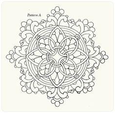 Коллекция картинок: Круглые кружева. Имитация. Уроки росписи от Arlene Linton