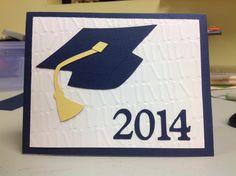 Graduation card using Locker Talk Cricut cartridge.