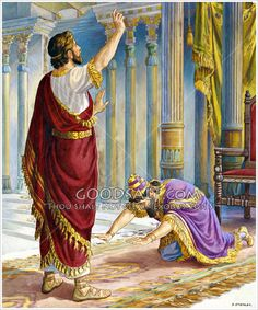 Daniel interprets Nebuchadnezzar's dream Daniel 2