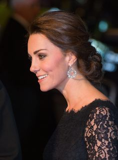 Kate Middleton stunned at the Royal Variety Performance