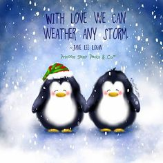 With love we can weather any storm