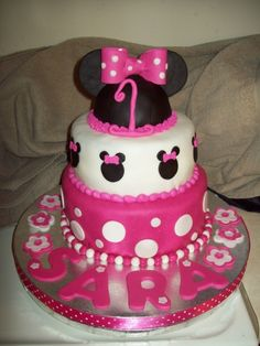 Minnie Mouse First Birthday...cute