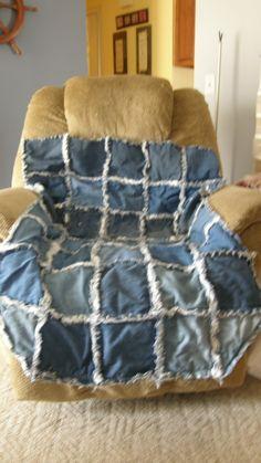 denuim wheelchair quilt