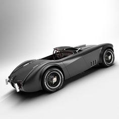 austin healey 1004 v8 3d model - Austin Healey 1004 V8.
