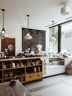 Home Decorators Laminate Flooring Product Bakery Shop Design, Coffee Shop Interior Design, Coffee Shop Design, Restaurant Interior Design, Cafe Design, Cozy Cafe Interior, Bakery Shop Interior, Brewery Interior, Design Design