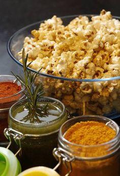 Pipoca 'fit' estoura na internet como opção de lanche saudável cheio de sabor Poucas calorias e generosas fibras são as características do alimento
