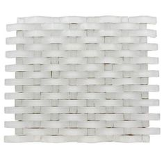 Splashback Tile Contempo Curve Bright White Dot 12 in. x 12 in. x 8 mm Glass Floor and Wall Tile(1 sq. ft.)-CONTEMPO CURVE BRIGHT WHITE W WHITE DOT at The Home Depot