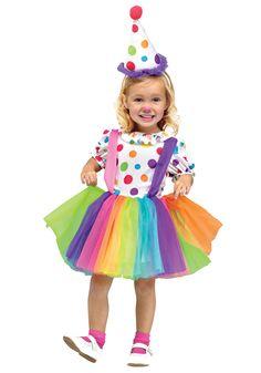 Child Big Top Fun Clown Costume