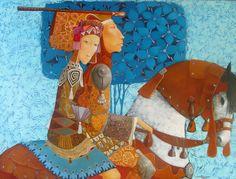 Il mondo di Mary Antony: I dipinti tra sogno e realtà di Merab Gagiladze (Georgia)
