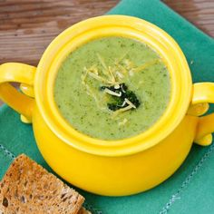 "Broccoli cheese soup –€"" sure, it's got a vegetable in the name, but nobody would ever think that this typically cream-laden soup could fall into the weight loss soup category. This version calls for vegetable stock instead of chicken stock for a healthier twist, and loads up on extra veggies."