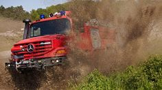 Hot like fire. Check out the Unimog, Econic & Zetros showing their stuff at #INTERSCHUTZ 2015: http://benz.me/sQUpz4J3