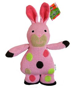 Knit toys by Rich Frog @Cottage Chic
