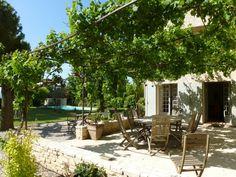 普羅旺斯地區艾克斯房屋出租 - VRBO 624093a - 4 BR普羅旺斯地區艾克斯地區馬斯在法國,靜靜的房子裡有私人泳池性游泳