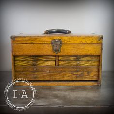 basil green pencil: Shopping Guide: Vintage Toolboxes