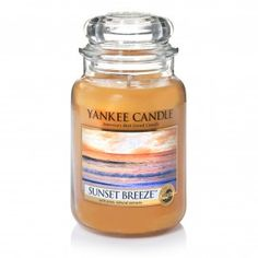Yankee Candle Large Jar Sunset Breeze Jars Holders Scents
