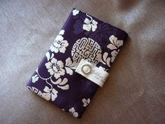 Porte Navigo & ticket T - violet & bleu  : Etuis, mini sacs par jolihanstyle sur ALittleMarket