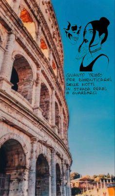 sfondo roma Tumblr, Sentences, Instagram Story, Superstar, Postcards, Sad, Wallpaper, Random, Music
