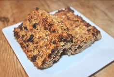 'Whatever you're Into' Granola Bars | Natural Born Feeder (Irish model Rozanna Purcell's new food blog)