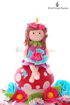 Fairy Abi! by Little Cottage Cupcakes, via Flickr