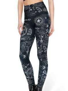 Spellbound HWMF Leggings (WW $75AUD / US $60USD) by Black Milk Clothing