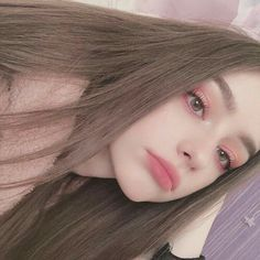 How are you doing?💖 Have you checked up my new video?🤔 What do you think about that? Kawaii Makeup, Cute Makeup, Beauty Makeup, Makeup Looks, Hair Makeup, Hair Beauty, Girl Pictures, Girl Photos, Beauté Blonde