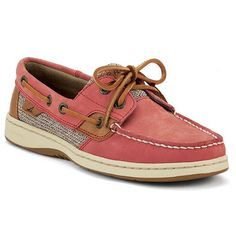 Sperry TopSider Womens Bluefish 2Eye Washed Red Boat Shoe 9 M B * Check out this great product.
