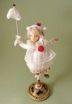 Inchelina - The Art Dolls of Joanna Thomas