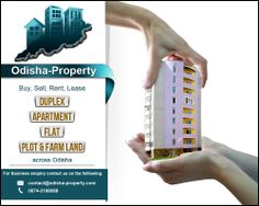 Odisha-property helps you to find Flats,Apartments, #plot, lands in #Odisha.