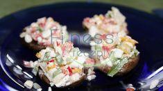 Nátierka z cottage cheese Cottage Cheese, Potato Salad, Potatoes, Ethnic Recipes, Fitness, Food, Potato, Essen, Meals
