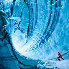 langjokull glacier by tyler stableford
