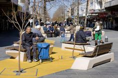 Nicholson-St_Mall-by-HASSELL-landscape-architecture-04 « Landscape Architecture Works | Landezine