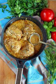 sio-smutki! Monika od kuchni: Kurczak duszony w sosie jogurtowym z ziołami