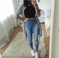 Pin by robin ball on clothes in 2019 fashion outfits, trendy outfits, fashi Teen Fashion, Fashion Outfits, Womens Fashion, Fashion Games, Latest Fashion, Woman Outfits, Fashion 2020, Fall Fashion, Fashion Tips