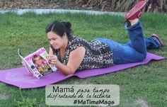 #Ad Mamá pasa tiempo disfrutando de la lectura - El Tintero de Mamá.  #MeTimeMags #WeaveMade #eltinterodemama