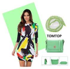 """TOMTOP 19"" by christine-792 ❤ liked on Polyvore"