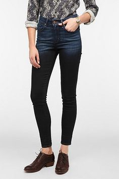 levi's ombre high-waisted jeans