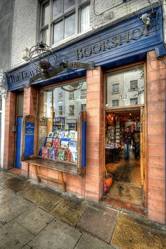 Travellers Bookshop, Notting Hill, London