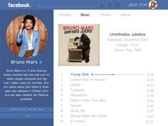 Facebook Artist Page Concept Rebound Facebook Artist Page, Unorthodox Jukebox, Music Photo, Rebounding, Concept