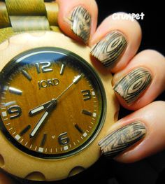 JORD Wood Watch - Nail Art and Giveawaaaaaaaaaaaaaaaaay - The Crumpet