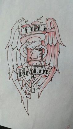 Diabetic Tattoo Design