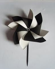 Fabriquer un moulin à vent en papier   Agencema
