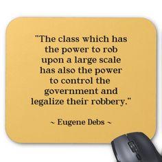 Socialism, Capitalism, Class Struggle, Inequality, Wall Street Greed, Eugene Debs
