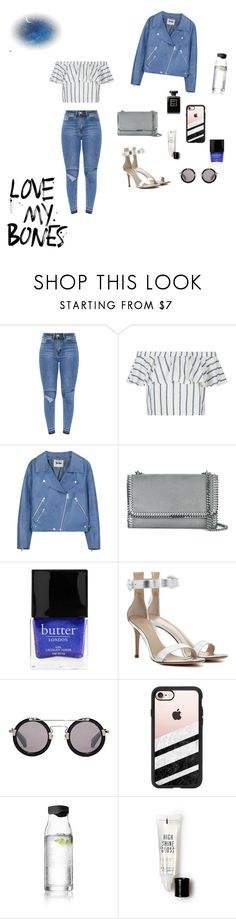 """""""1-42"""" by cbbh on Polyvore featuring Topshop, Acne Studios, STELLA McCARTNEY, Butter London, Gianvito Rossi, Yohji Yamamoto, Casetify, Menu, Forever 21 and Chanel"""