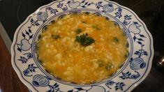 Hustá květáková polévka z Krkonoš Cheeseburger Chowder, Risotto, Soup, Ethnic Recipes, Soups